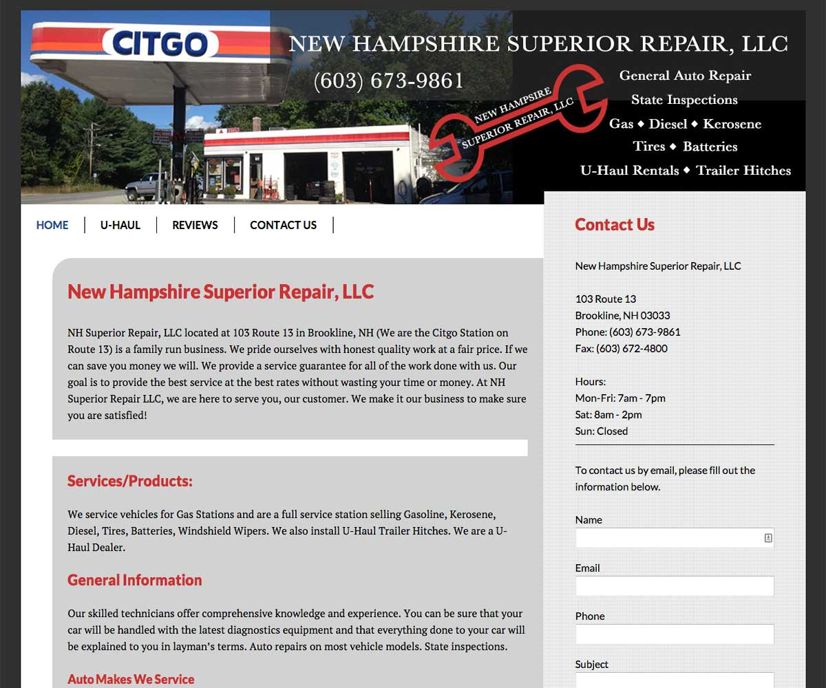 New Hampshire Superior Repair